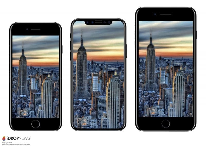 iPhone 8 Size Comparison iDrop News 8 800x571 1