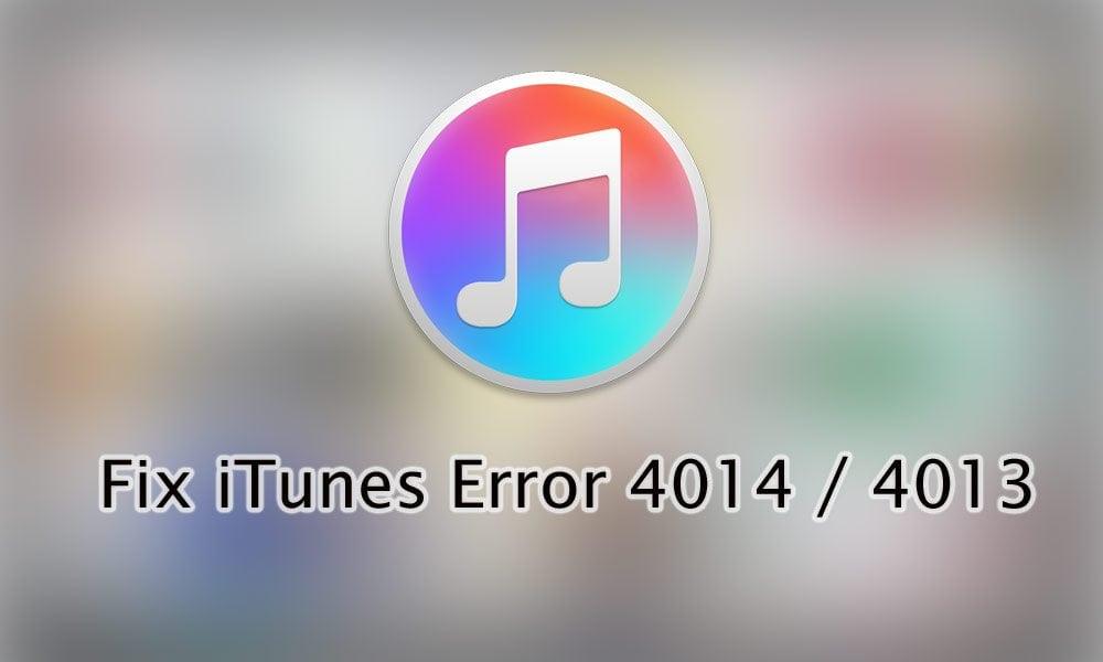 Apple Itunes Erros