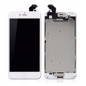 iPhone 6 Plus White replacement screen, mobile phone repair Stevenage