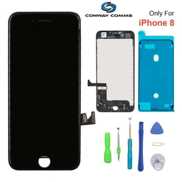 Iphone 8 Screen Black Conway Comminucations