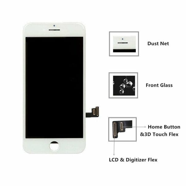 Iphone 8 Screen White Conway Comminucations 9