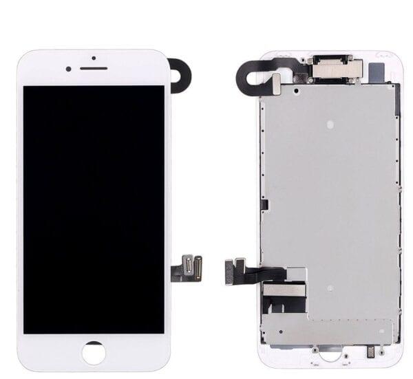 iPhone 7 white screen M1