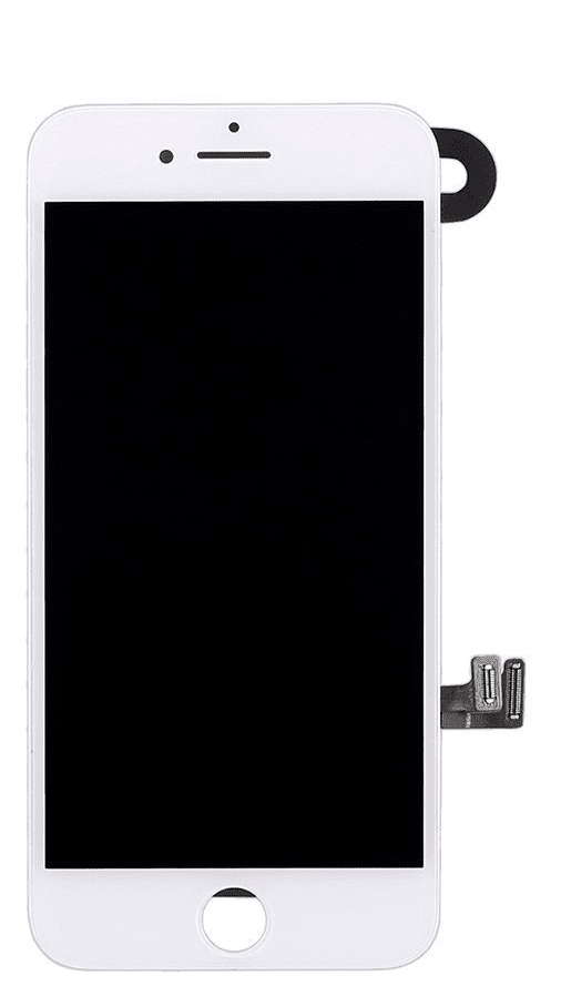 iPhone 7 white screen front